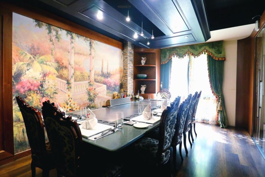 台中西屯美食 豐饡鐵板燒餐廳 奢侈高級享受 約會 求婚 生日慶生 聚餐聚會 隱私包廂 活動包場 免費停車場