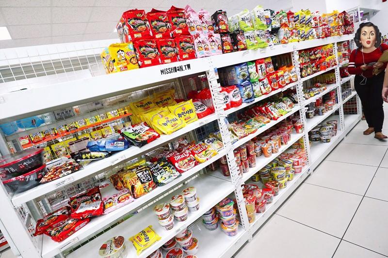 菲律賓蘇比克灣的韓國雜貨店 KOREAN GROCERY SUBIC 韓國泡麵/美食/飲料/生活用品通通都有賣的小商店