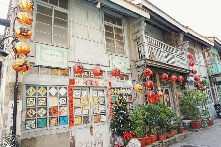 台南中西區景點 神農街 濃厚復古氛圍的老街巷弄 從前的北勢街 古色古香的建築包圍 猶如走在時光的迴廊