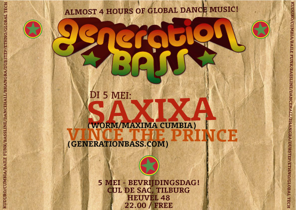 Generation Bass - May 5th