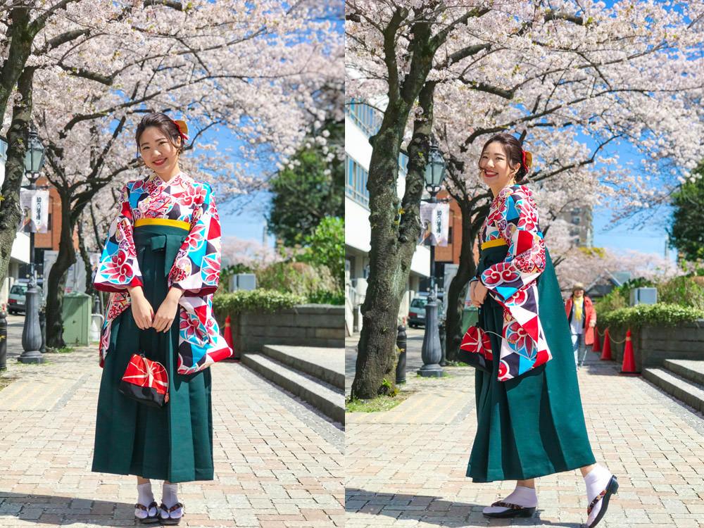 東京和服推薦|淺草愛和服:拍美照必去!超可愛振袖含編髮髮型