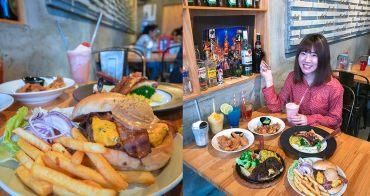 西門平價美食|二訪A.K.12 美式小館,份量超大美式餐廳,適合聚會慶生/台北寵物友善餐廳@捷運西門站