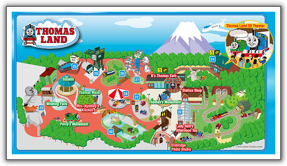Thomas Land Map