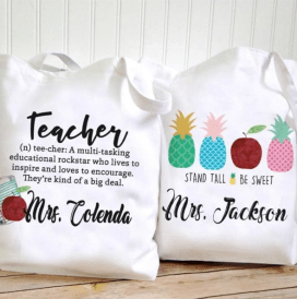 Get Custom Teacher Quote Tote Bags for just 8.95 - How To Choose A Custom Tote Bags