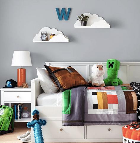 decor pillowfort circle shelf