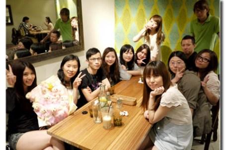 ★台北★櫻花麻歡送宴@樂子咖啡