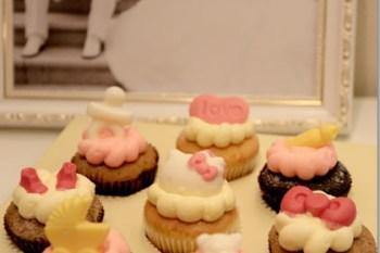 ★寶寶★彌月蛋糕禮盒,超可愛的Cloudy克勞蒂杯子蛋糕