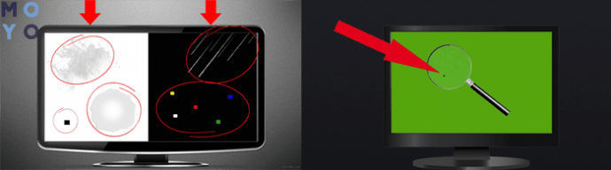 controllare il monitor per pixel morti