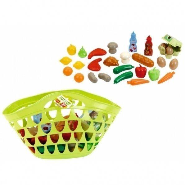 Игровой набор Ecoiffier Большая корзинка с продуктами (965 ...