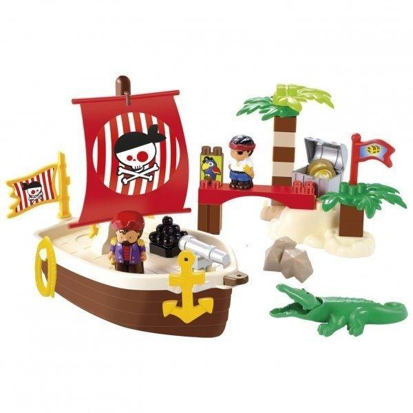 Конструктор Ecoiffier Казна пиратов 34 детали (003179 ...