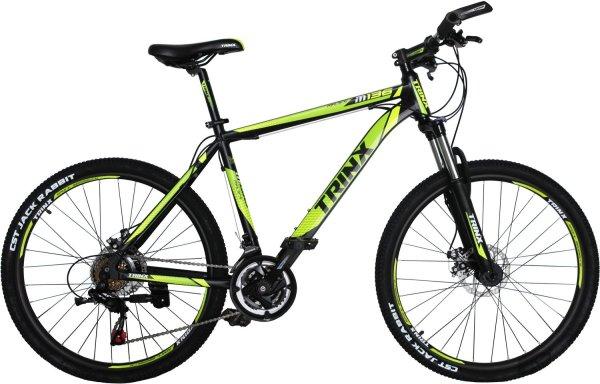 """Велосипед Trinx M136 26"""" рама 19"""" Black-Green-White ..."""