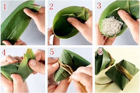 包粽子的方法-