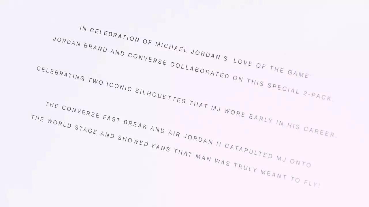 北卡情结丨Jordan x Converse Pack-雪花新闻