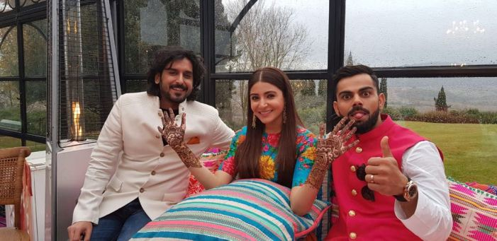 Virat and Anushka Tie the Knot