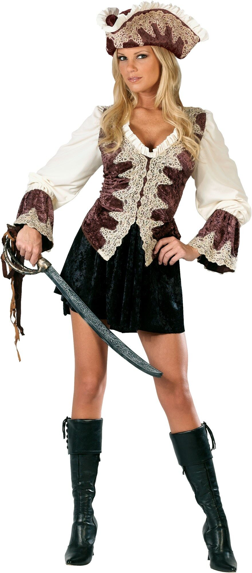 Adult Royal Lady Pirate Costume Mr Costumes