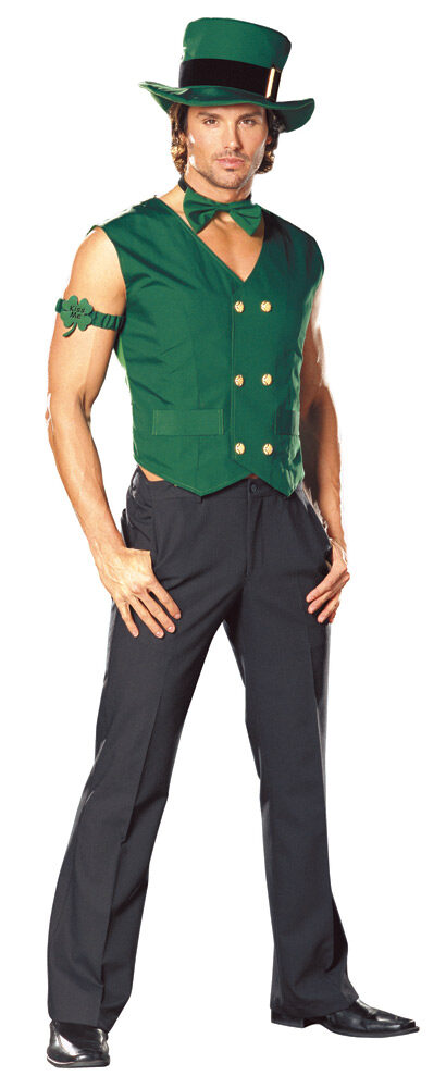 Get Lucky St Patricks Day Adult Costume - Mr. Costumes