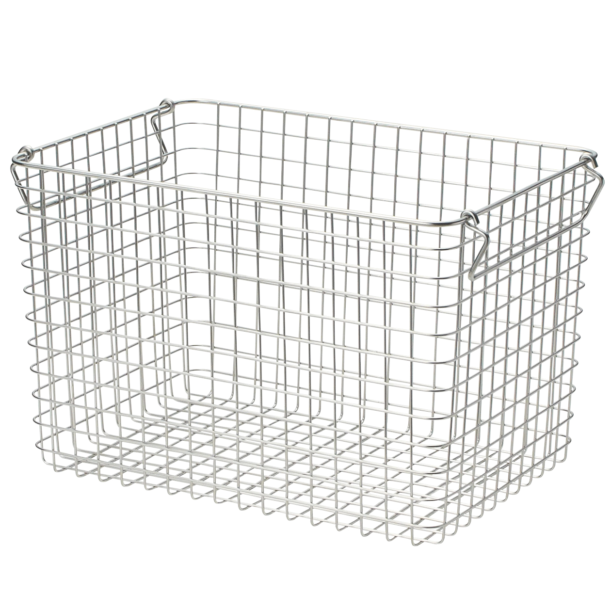 18 8 Stainless Steel Wire Basket 5 W37 D26 H24cm