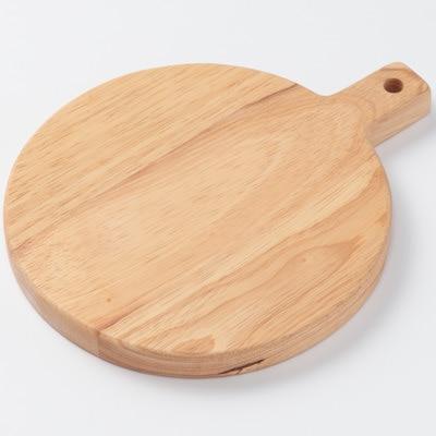 橡膠木砧板/圓型 直徑18.5×高2cm | 無印良品