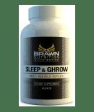BRAWN Sleep & Ghrow 90 kaps.
