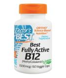 DOCTOR'S BEST Fully Active B12 60 kaps.