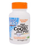 DOCTOR'S BEST High Absorption CoQ10 plus PQQ 60 kaps.