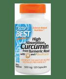 DOCTOR'S BEST High Absorption Curcumin 500mg 120 kaps.