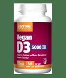 JARROW Vegan D3 5000 IU 60 kaps