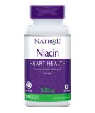 NATROL Niacin Time Release 500mg 100 tab.