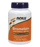 NOW FOODS Bromelain 500mg 120 kaps.