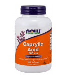 NOW FOODS Caprylic Acid 600mg 100 kaps.