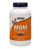 NOW FOODS MSM 1500mg 200 tab.