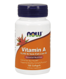 NOW FOODS Vitamin A 10.000 IU 100 kaps.