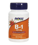 NOW FOODS Vitamin B-1 100mg 100 tab.