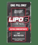 NUTREX Lipo-6 Black Ultra Concentrate 60 kaps. (wersja 2)