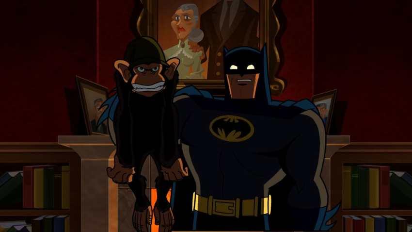 Animated Films Detective Chimp
