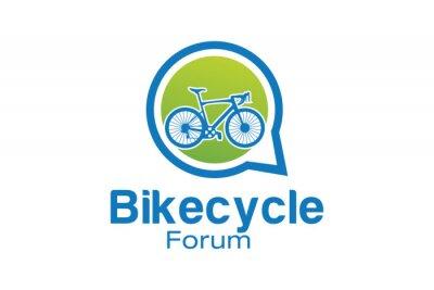 Posarla, o cambiarla, è una soluzione adatta sia agli ambienti più classici che a quelli più moderni e creativi. Bicycle Forum Logo Vector Carta Da Parati Carte Da Parati Viaggi Foro Gruppo Myloview It