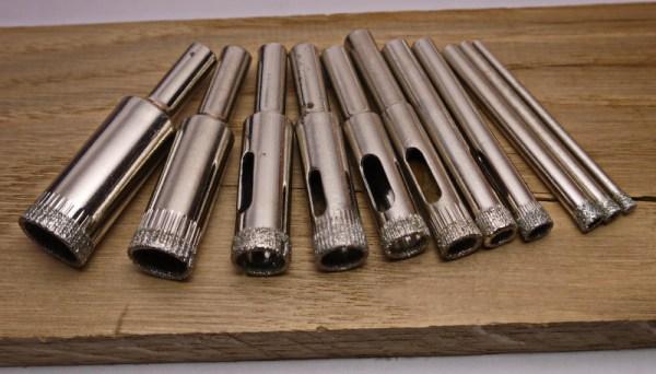 Алмазные трубчатые сверла по керамике, стеклу и кафелю ...
