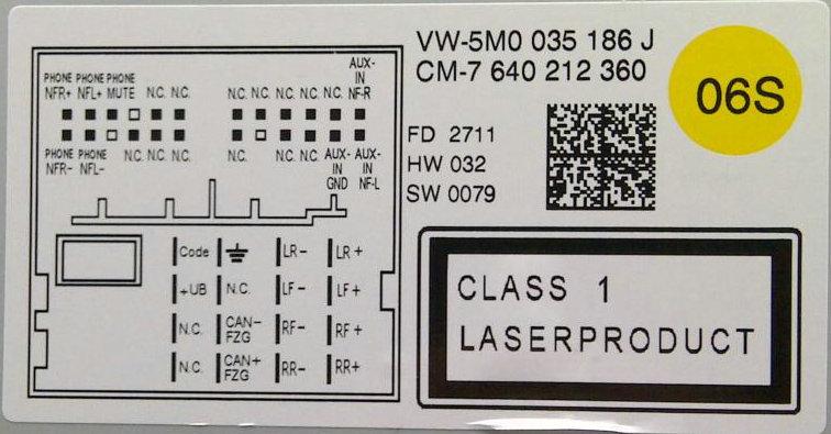Rns 510 Wiring Diagram   22 Wiring Diagram Images