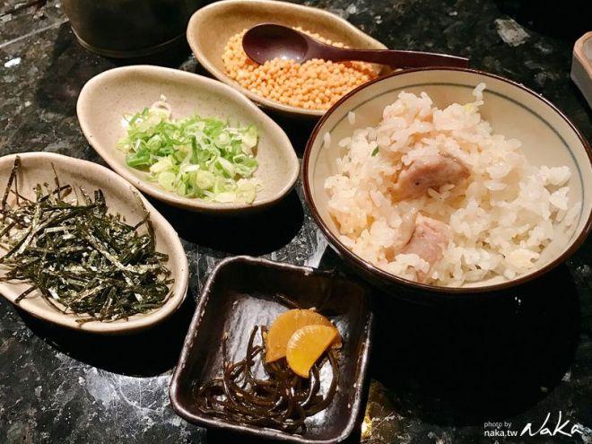 老乾杯-雞釜飯與茶漬伴飯配料