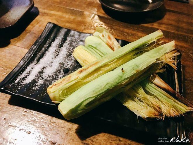激安の食事酒場-帶皮玉米筍 NT$58