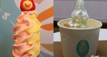 【彰化市美食。霜淇淋】S3霜淇淋N訪。冬季限定版!挑戰新嚐鮮居然有熱霜淇淋巧達濃湯還有可愛的笑臉草莓霜淇淋?❤S3霜淇淋。冰淇淋/彰化孔廟/彰化火車站
