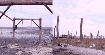 彰化福興》福寶濕地.漂流木景觀裝置藝術。超冷門IG超夯打卡點一起學網美拍假掰照