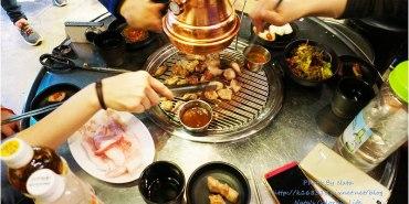 【旅遊✈KOREA】2015櫻在首爾*弘大站‧HAHA401烤肉店。《RUNNING MAN》和《無限挑戰》粉絲必朝聖!由HAHA藝人所開的~主打濟州島黑豬肉的烤肉店。鄰近弘益大學