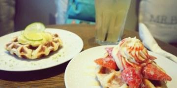 【美食♔台北大安區】忠孝敦化站/MR.PAPA WAFFLE&CAFE 比利時鬆餅專賣店(明曜店)。列日鬆餅,每一口都吃得到的幸福感動!