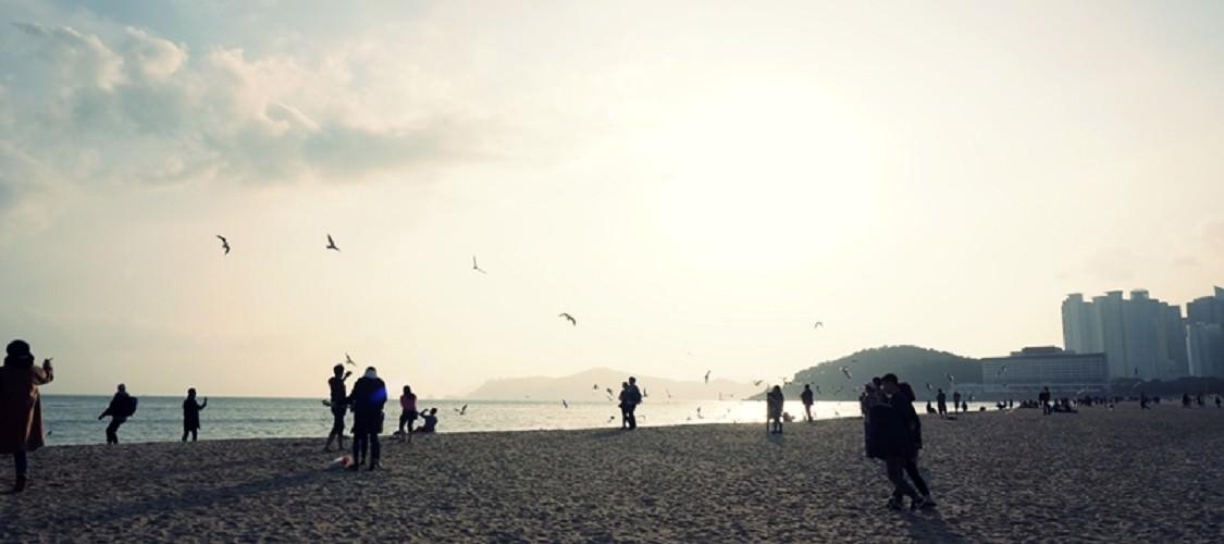 釜山‧海雲台海水浴場