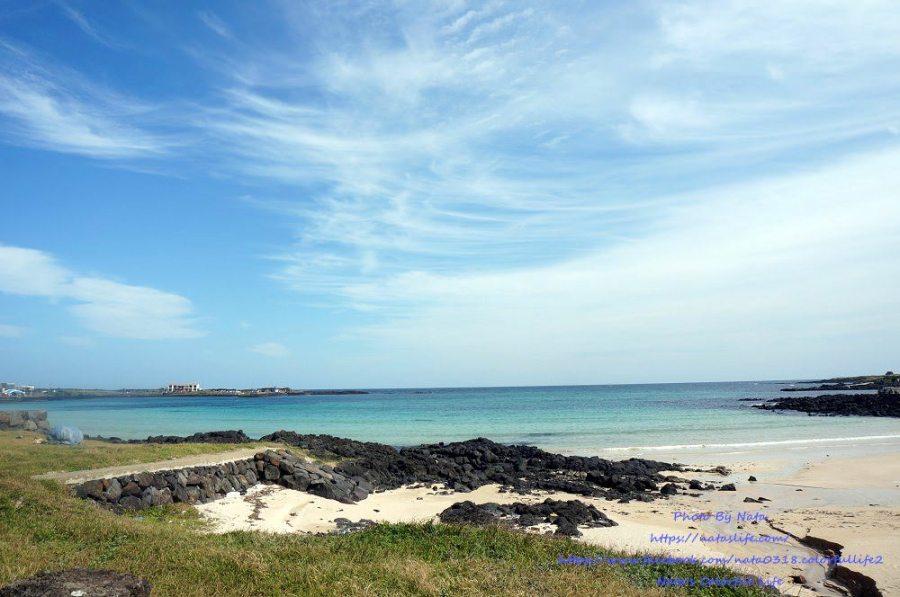 濟州島自由行│牛島우도景點、美食。天空和海一樣藍!島上放鬆半日遊、必吃牛島炸醬麵家(우도짜장면집)