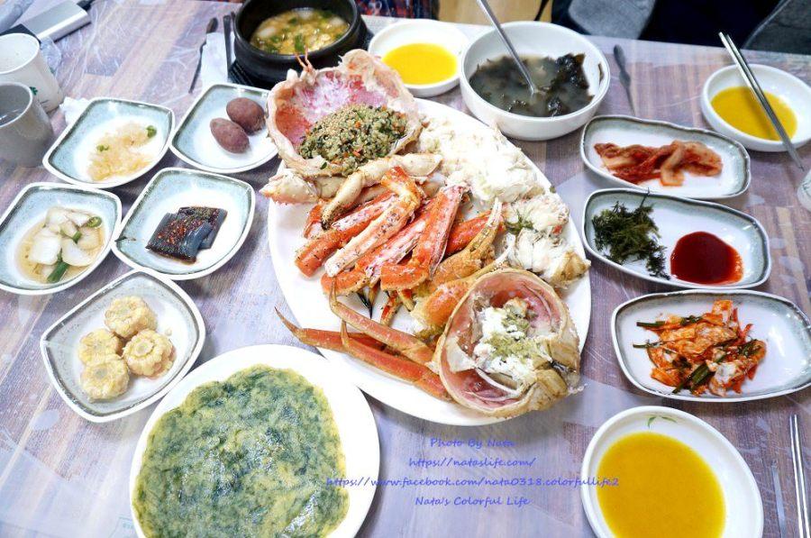 釜山自由行│機張市場美食│東海水產&大蟹동해수산&대게。傳統市場遊樂趣!帝王蟹肥美又甘甜