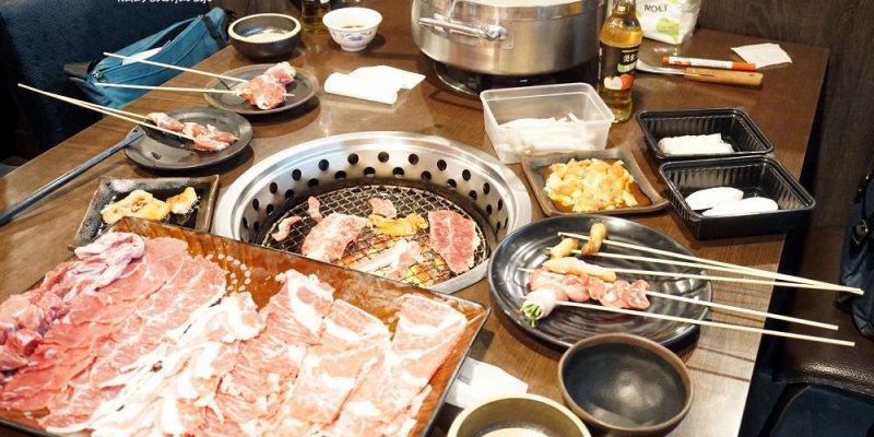 【美食♔台南新營區燒烤】新營和樂屋。台南新營聚餐!火鍋、燒烤、串串燙三吃,499元吃到飽