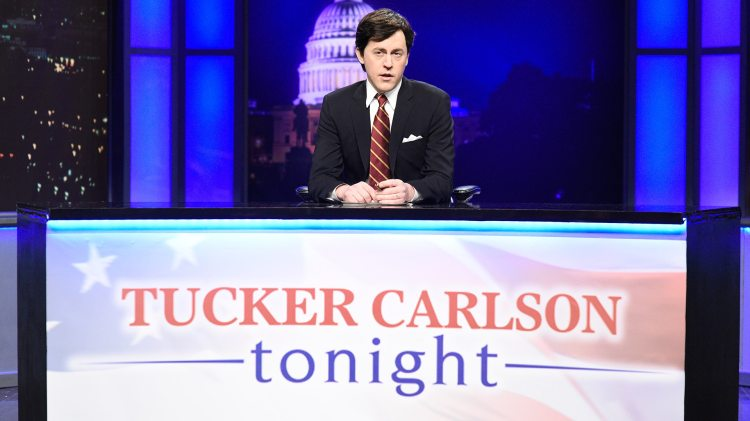 Watch Saturday Night Live Highlight: Tucker Carlson Cold ...