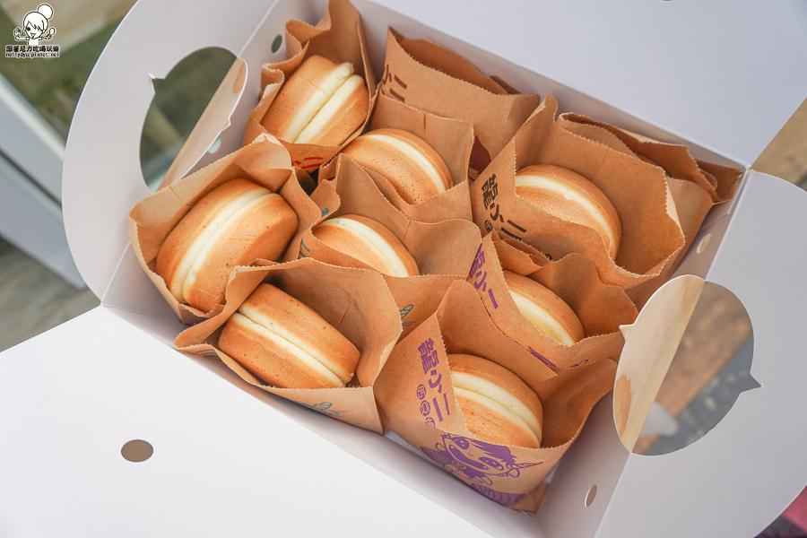 龍小二 紅豆餅 蛋糕紅豆餅 特製 好吃 生乳卷 高雄美食 高雄甜點
